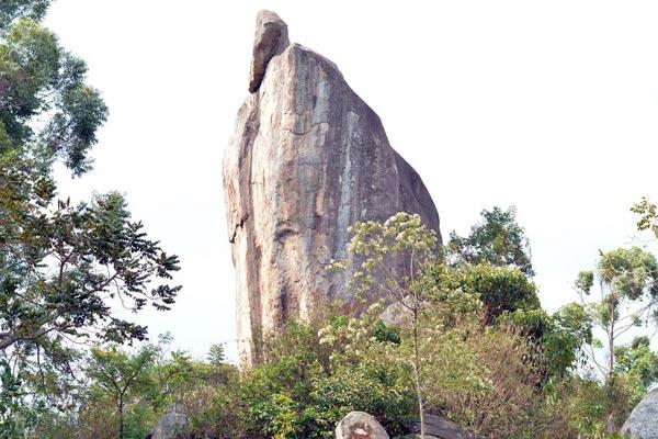 View of Ikhongo Murue (Ctrying Stone of Ilesi).  Photo Courtesy of Nation MG
