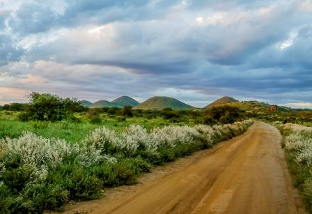 The Five Sister Hills in Tsavo West National Park.  Photo Courtesy of The Sane Travel