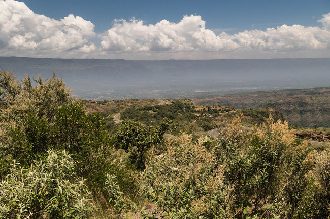 View of Cherangani Hills, from near Kitale Town.  Photo Courtesy