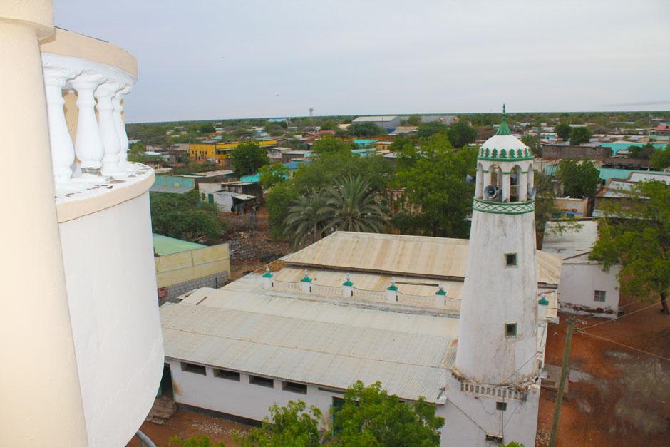 View of Wajir Old Town.  Photo Courtesy of Wajir Government