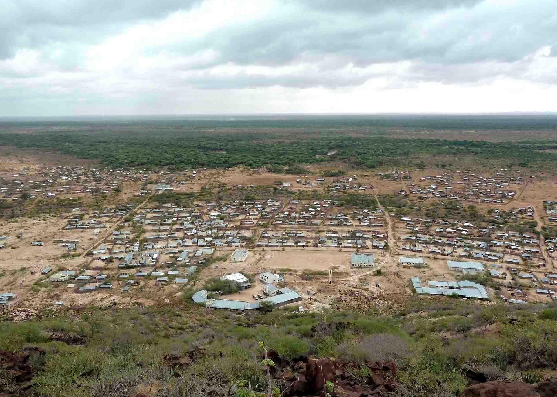 View of Merti Plateau in Isiolo.  Photo Courtesy of Coverage Monitoring