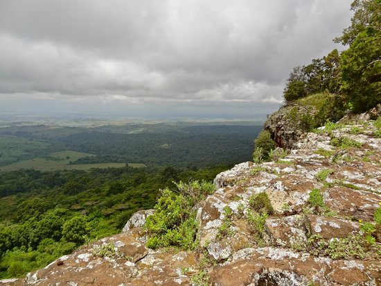 View of Mount Elgon National Park from Endebess Bluff.  Photo Courtesy of Trip Advisor
