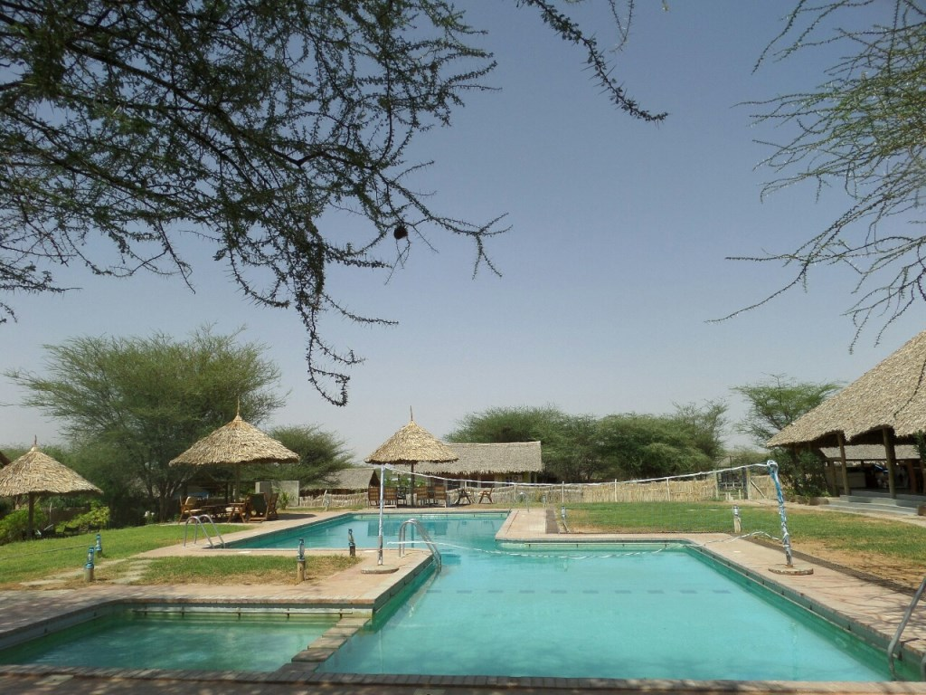 View of Cradle Tented Camp in Lodwar.  Photo Courtesy of Wangechi Gitahi Travels