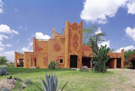 View of the African Heritage House near Mlolongo.  Photo Courtesy of African Heritage House