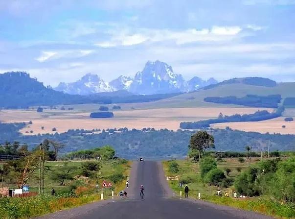 View near Timau Escarpment.  Image Courtesy of WikiMedia
