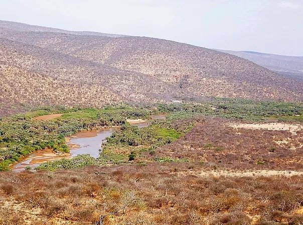 View of the landscape near Malka Mari National Park.  Photo Courtesy