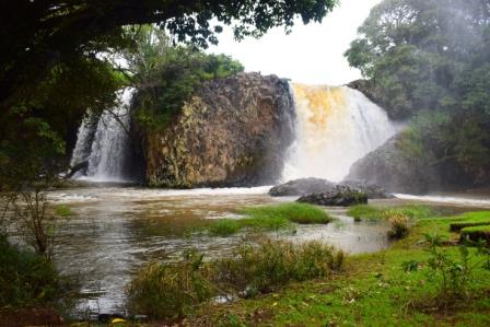 View of Gatitika Falls.  Photo Courtesy of MeatAndBae