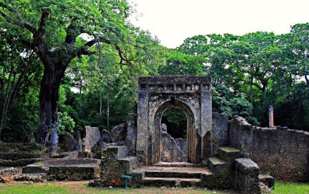 View of Gede Ruins in Kilifi County. Photo Courtesy of National Museums
