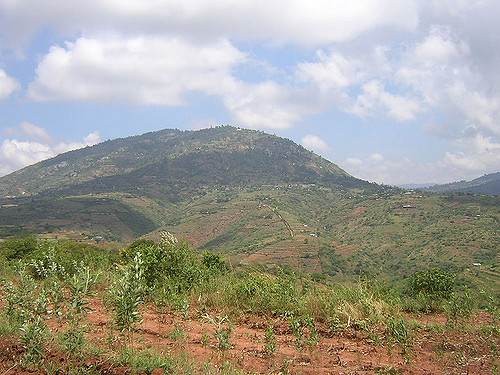View of Kiima Kimwe near Machakos Town.  Photo Courtesy