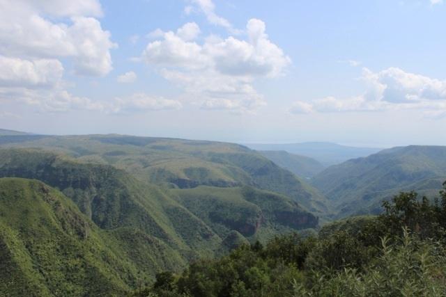 View of the Mukutan Gorge in Ol Ari Nyiro Conservancy.  Photo Courtesy of Gamewatcher