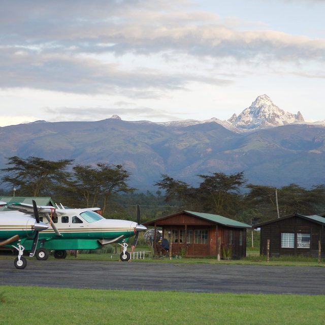 Inside Nanyuki Airstrip. Image Courtesy of Tropic Air