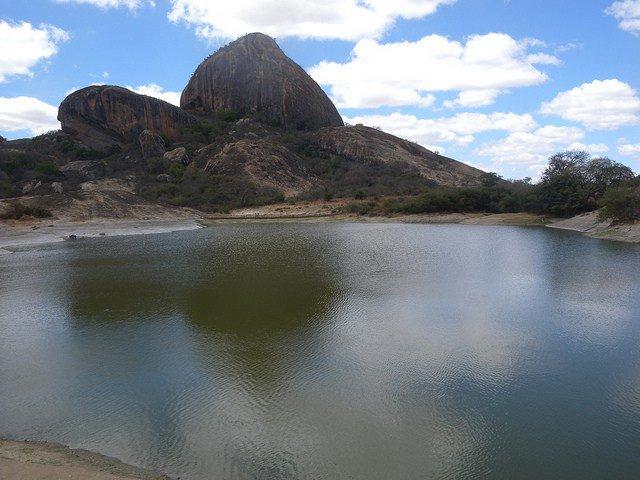 View of the Ngomeni Rock and Ngomeni Rock Catchment.  Photo Courtesy