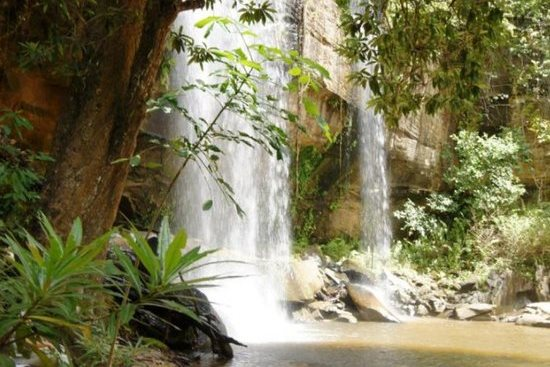 View of Sheldrick Falls within Shimba Hills National Reserve.  Photo Courtesy of TripAdvisor