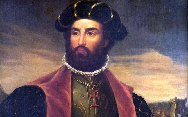 Portrait of Vasco da Gama.  Photo Courtesy of India Today