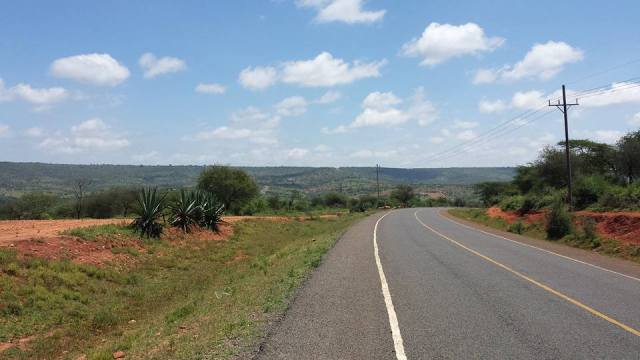 View of the 210 kms long Yatta Plateau. Photo Courtesy of A Thousand Words