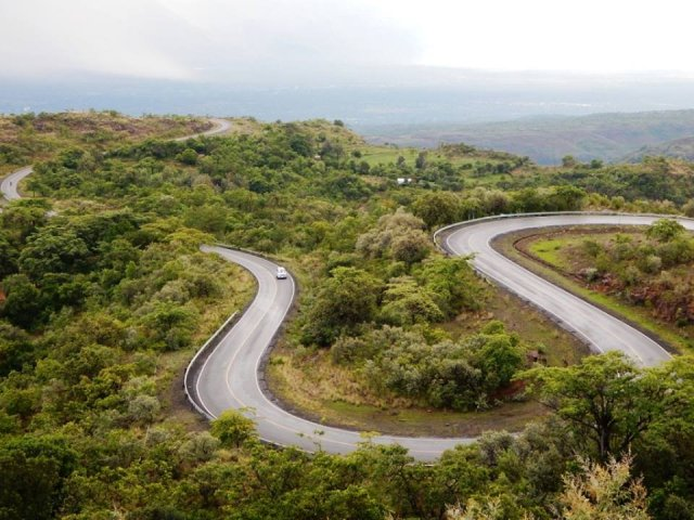 View of a section of the C51 Iten to Kabarnet Road.  Photo Courtesy