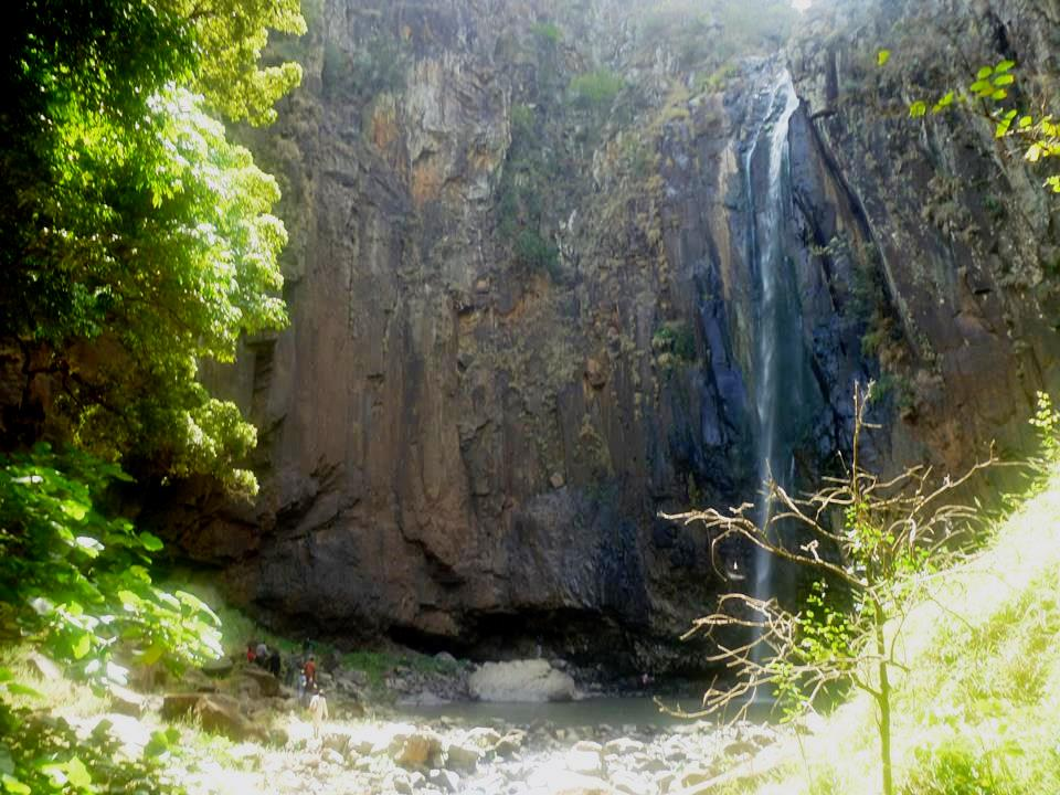 View of the Kikojo Falls within the Morop-Tarambas Conservancy.  Photo Courtesy