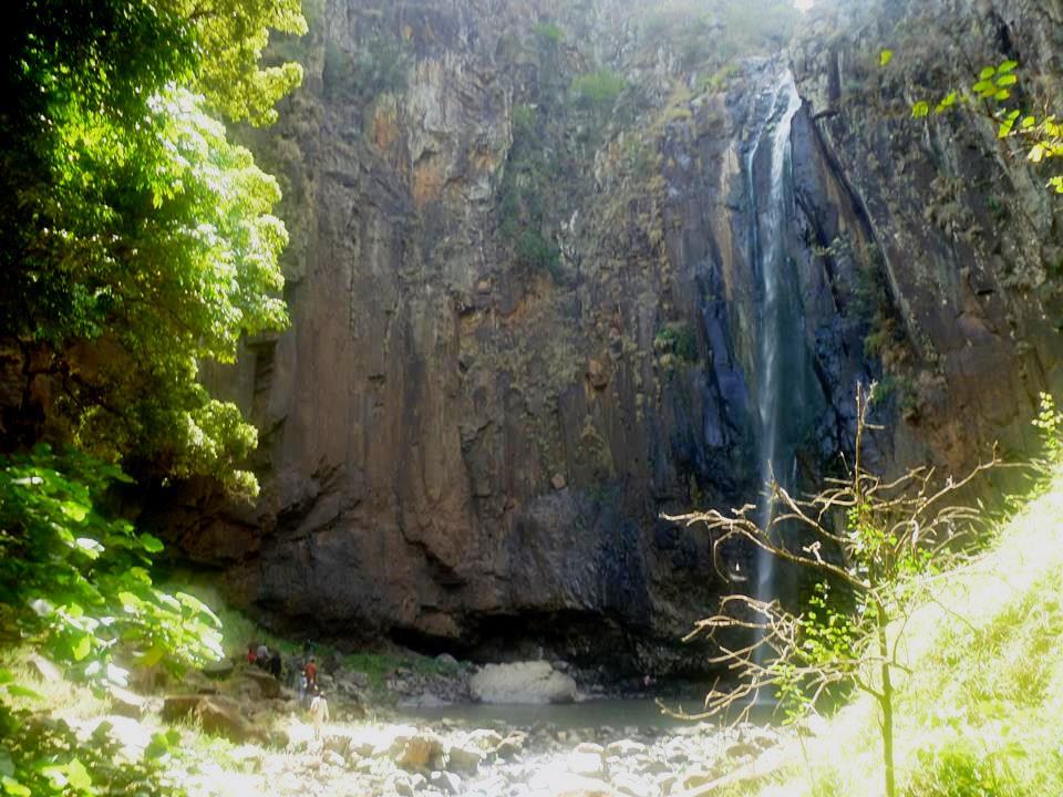 View of the Kikojo Falls within the Morop-Tarambas Conservancy.  Photo Courtesy