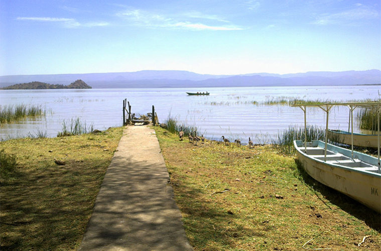 View of part of Lake Baringo from the jetty.  Photo Courtesy of Travel Pocket Guide