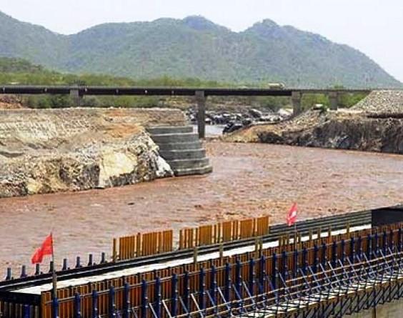 View of a section fo Bonyonyu Dam in Kitutu Masaba.  Photo Courtesy of KBC