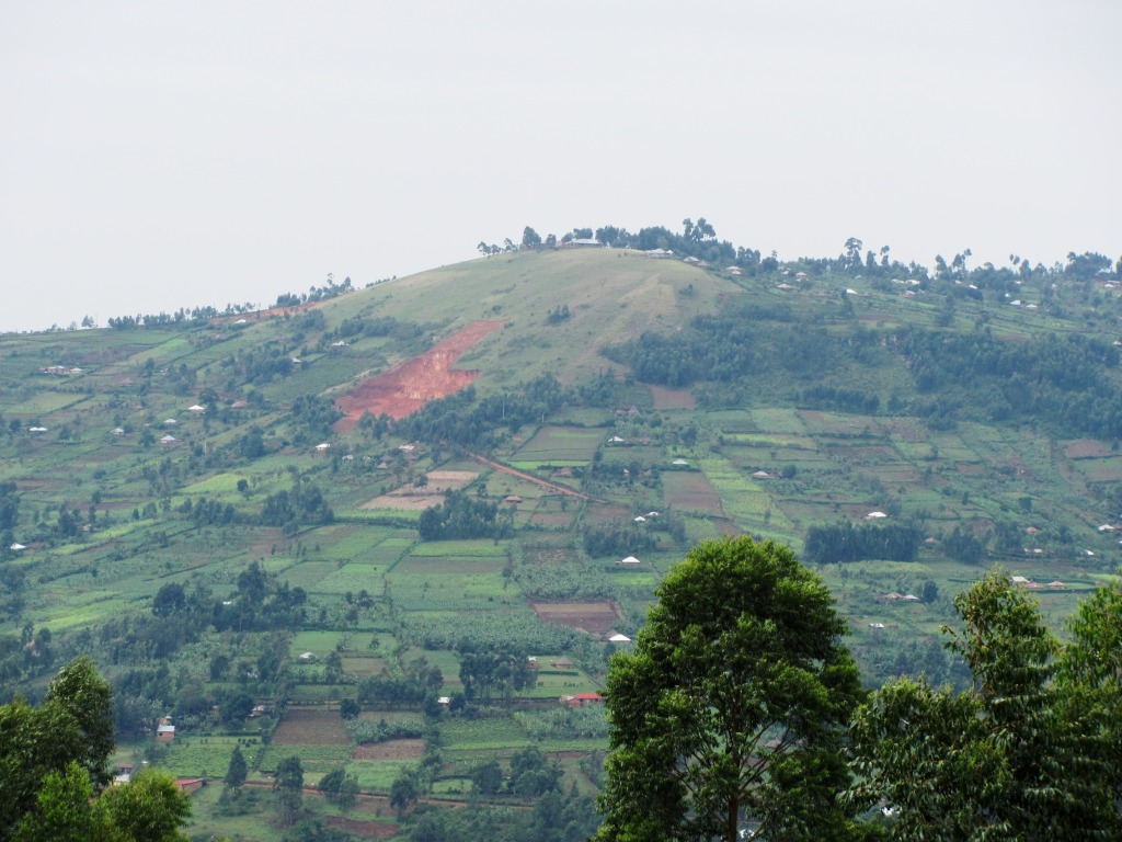 View of a hillscape in Nyamira County.  Photo Courtesy of Gusii Online