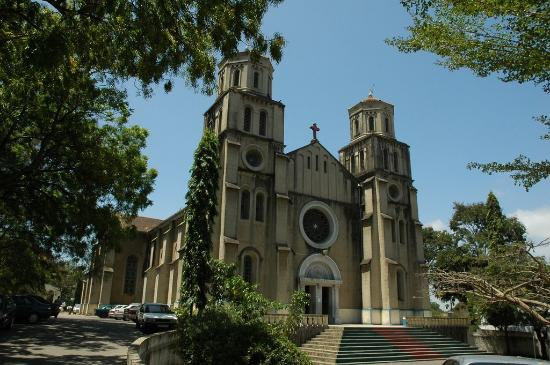 View of the Holy Ghost Cathedral in Mombasa City.  Photo Courtesy of Trip Advisor