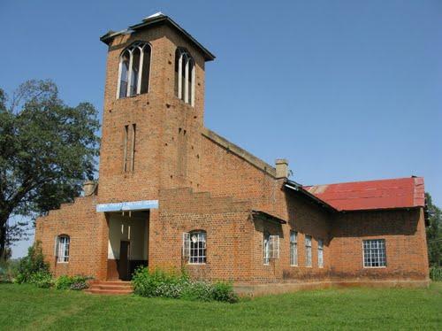 View of the Kidundu Friends Church near Majengo.  Photo Courtesy
