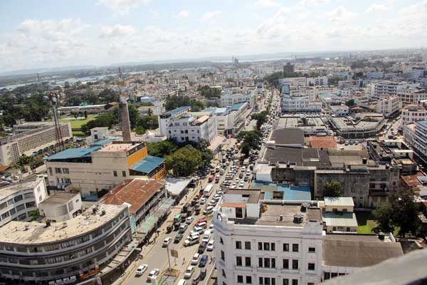 View of a section of Mombasa City.  Photo Courtesy of Daily Nation