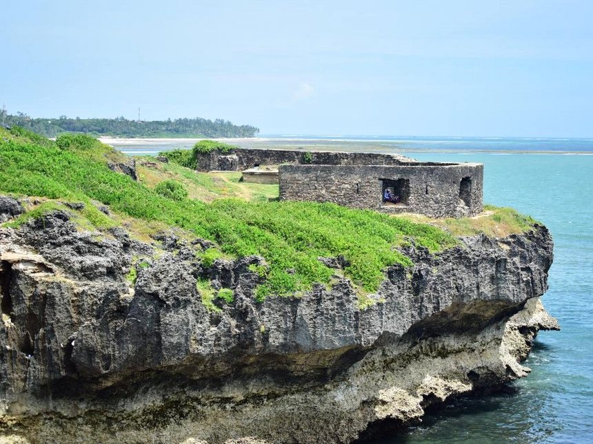 View of St. Joseph's Fort near Mama Ngina Park.  Photo Courtesy of The Star