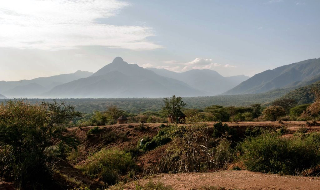 View of Cheranganis and Mount Koh from Marich Pass.  Photo Courtesy of NatGeo