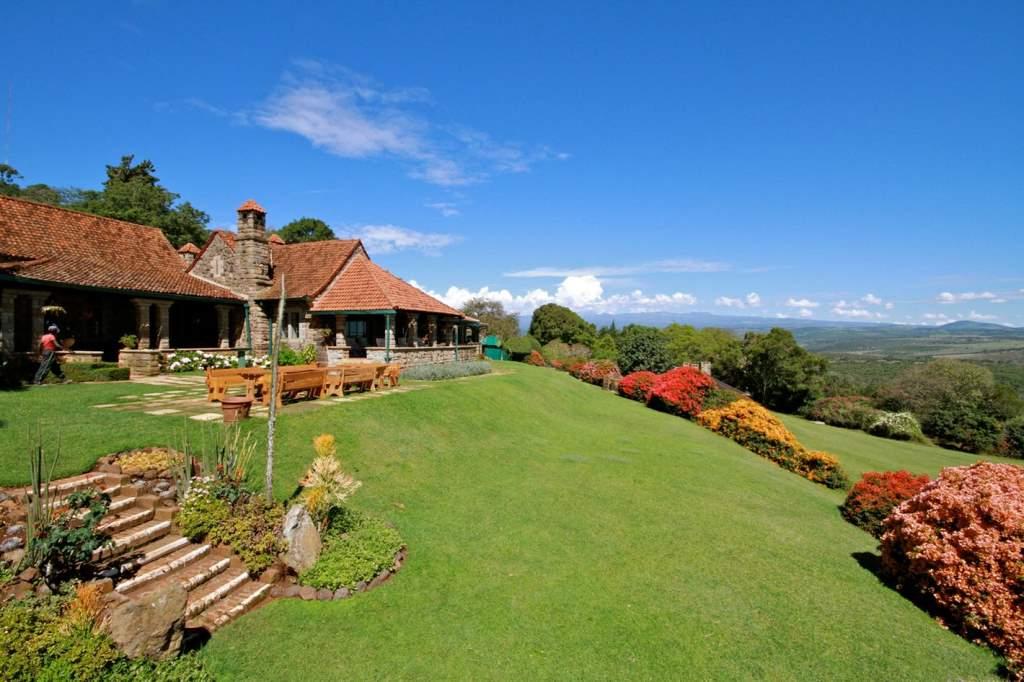 View at the Aberdare Country Club near Mweiga.  Photo Courtesy
