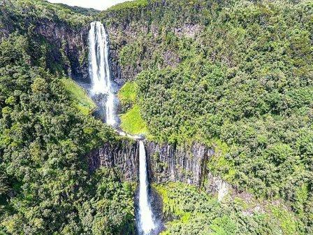 View of the splendorous Karuru Fall in Aberdare National Park.  Photo Courtesy