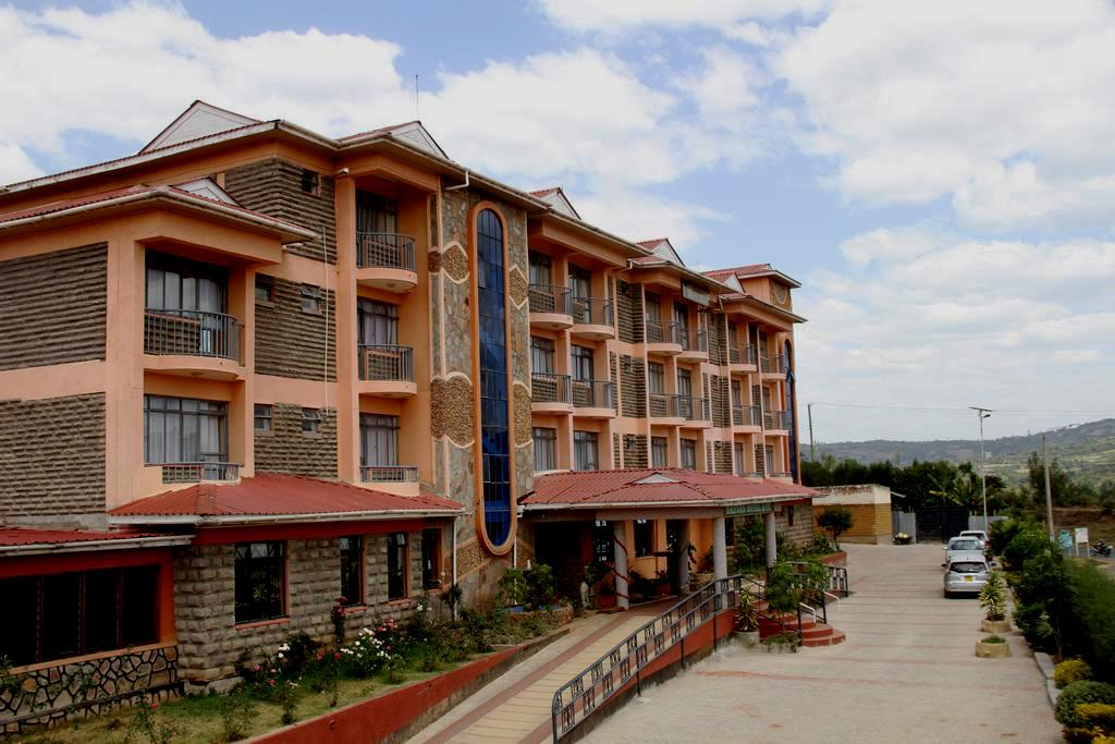 View of the Brevan Hotel and Conference Centre in Bomet Town.  Photo Courtesy of Bookings