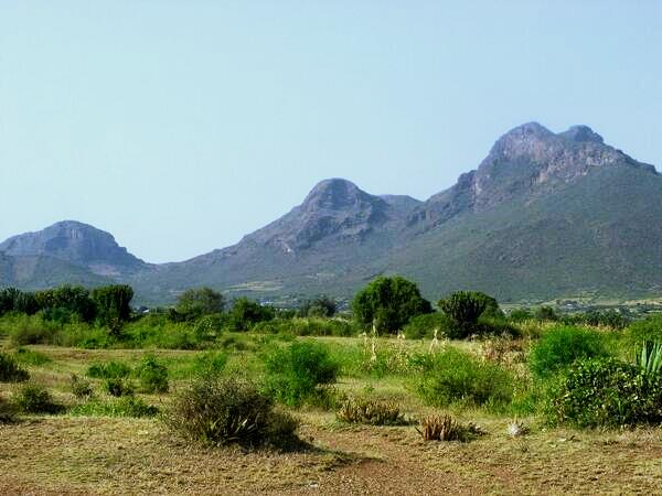View of Homa Hills, in Homa peninsula.  Photo Courtesy of Kenya Facts