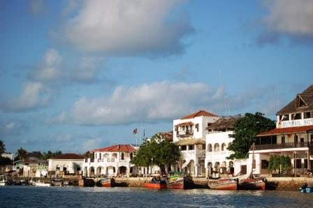 View of Lamu Old Town World Heritage Site in Lamu County.  Photo Courtesy