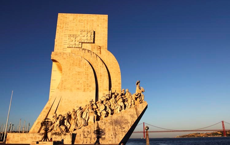 Monument of Discovery in Lisbon, Portugal - also known as Henry the Navigator Statue