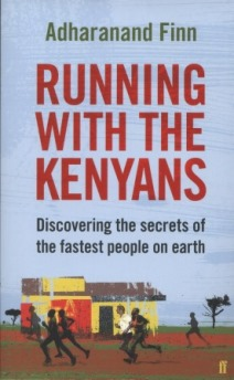 Book cover for Running With The Kenyans by Adharanand Finn