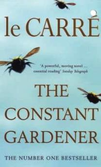 Book cover for The Constant Gardener, written by John le Carre in 2001