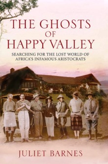 Book cover for The Ghost of Happy Valley by Juliet Barnes