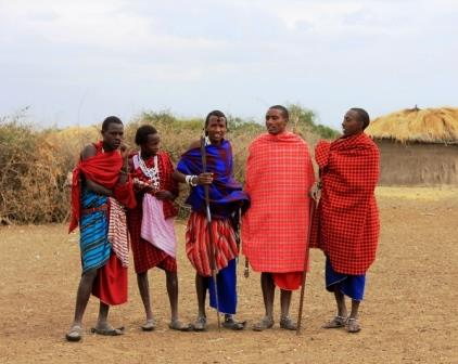 A Portrait of the Maasai