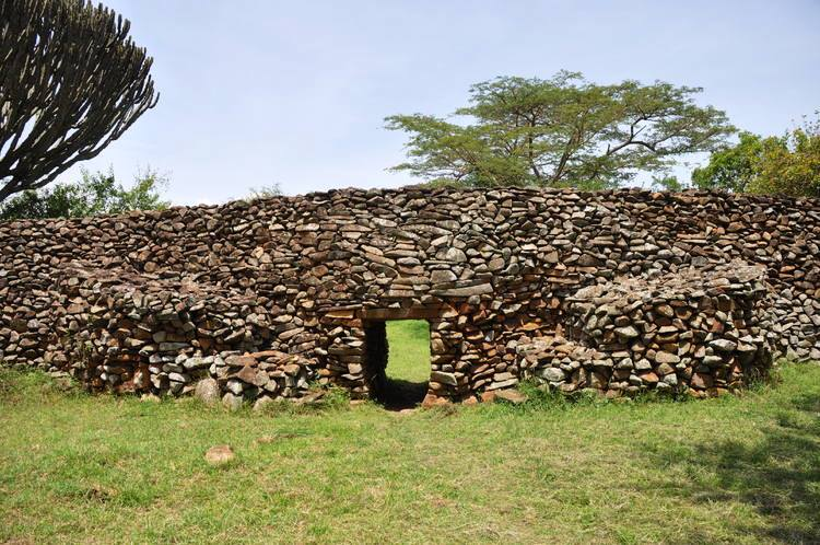 Entrance to the Thimlich Ohinga World Heritage Site in Migori County.  Photo Courtesy