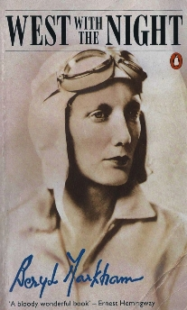 Book cover for West With the Night written by Beryl Markham in 1942
