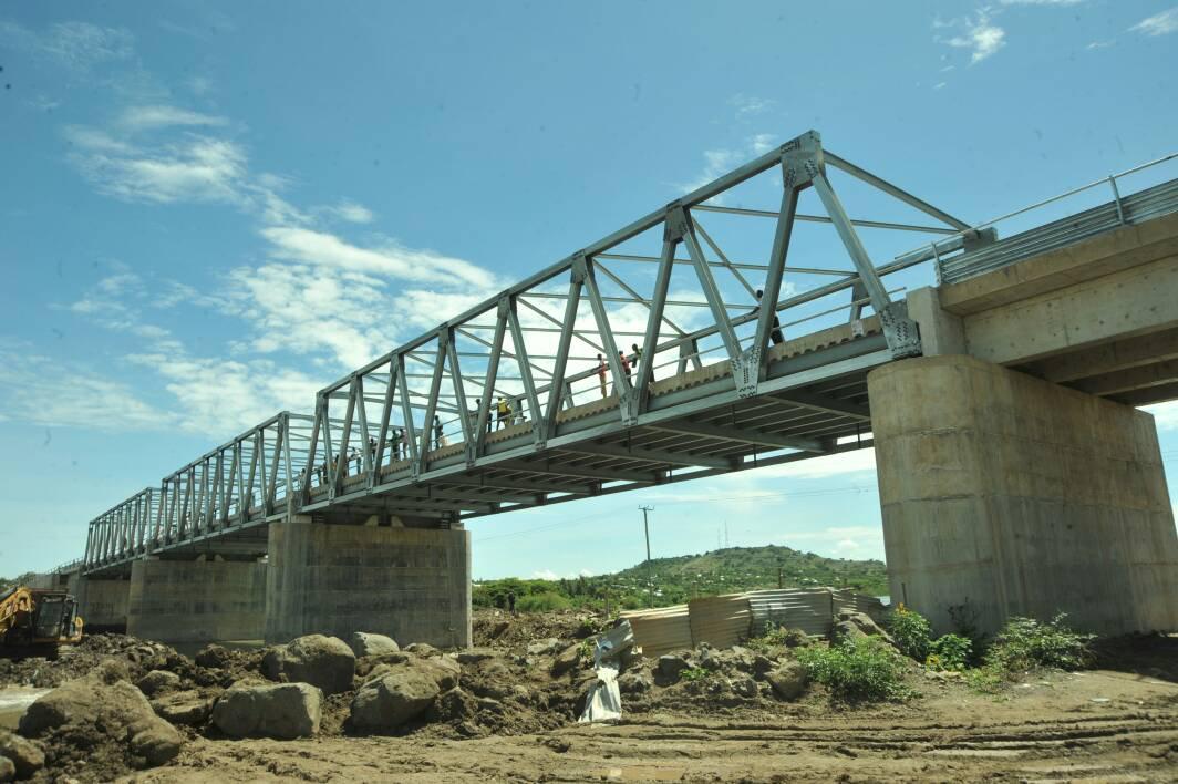 Brisge along Bumala-Port Sio Road.  Photo Courtesy