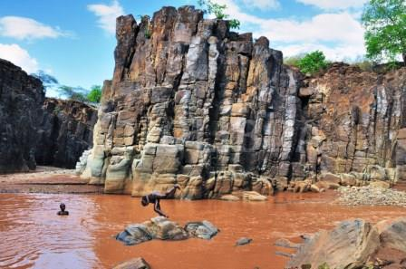 Turkwel River Gorge River in Kerio Valley.  Photo Courtesy
