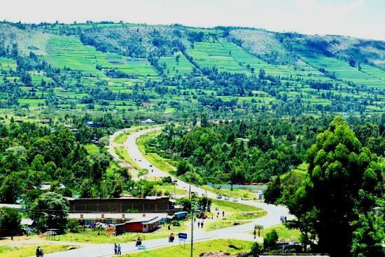View of landscape around Bomet.  Photo Courtesy of Trip Advisor