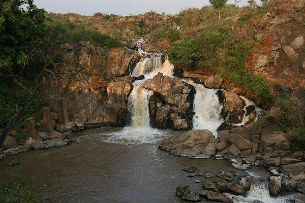 Nabuyole Falls, or the Webuye Falls, near Webuye Town.  Photo Courtesy of Nation MG