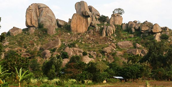 View of the Sanga'lo Rocks.  Photo Courtesy of Nation MG