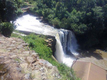 Tenwek Falls near Tenwek Hospital.  Photo Courtesy Know Kenya