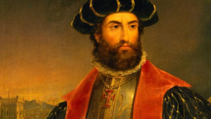 Portrait of Vasco da Gama, the Portuguese explorer.  Photo Courtesy