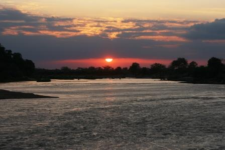 The Mighty River Athi-Galana-Sabaki at Sunset.  Image Courtesy